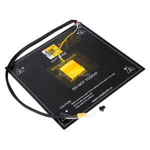 Image 5 - Creality 3D oficjalny sklep dostaw hot bed board + kable do drukarki 3D Ender 5 rozmiar 220*220*250mm fabryka części drukarki 3D