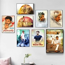 Pawan Kalyan India Movie Star Poster And Print Canvas Art Painting Wall Pictures For Living Room Decoration Home Decor No Frame