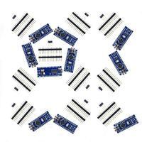 10x Nano V3 module ATMega328 P CH340G 16MHz miniUSB compatible