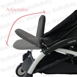 Image 3 - إكسسوارات لعربة الأطفال حقيبة ظهر مسند للقدمين لمسند ظهر حقيبة سفر babyzen YoYo بدلة راحة للقدم حقيبة ظهر لعربة الأطفال yoya