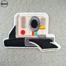 1 шт. мультфильм камера патчи для детской одежды гладить на аппликации DIY полосы вышитые наклейки пришить Симпатичные значки@ N-46