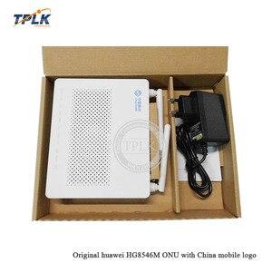 10pcs/lot Original Hua Wei GPON ONU/ONT HG8546M with 4FE LAN ports+1*phone ports+wifi English version+EU adapter(China)