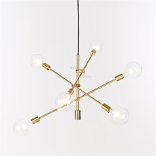 Gold 6 Head Chandelier light Iron lustre Dining Living Room hanglamp chandelier lighting American Modern LED Chandeliers lamp american country pastoral living room chandelier led lamp bedroom iron chandelier lighting rose chandeliers