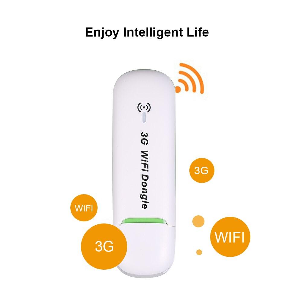 US $14 39 30% OFF Gokodo 3G USB Modem Free Download Driver Wireless Wifi  Modem CDMA 3G WiFi hotspot router wifi dongle 5 76Mbps (White / Black)-in