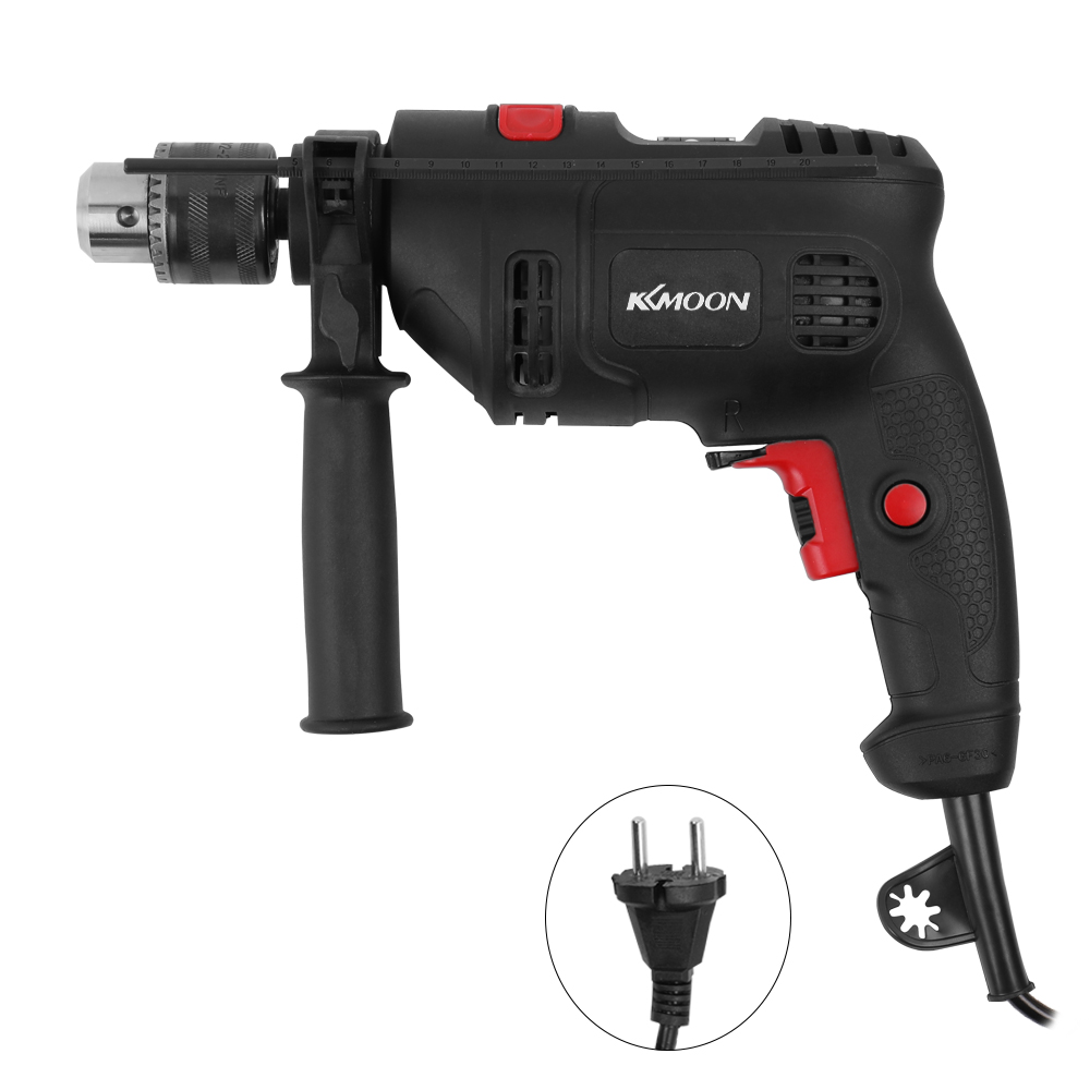 High Power Electric Impact Drill Electric Hammer Dual use Adjustable Speed Tool Kit for home Industry