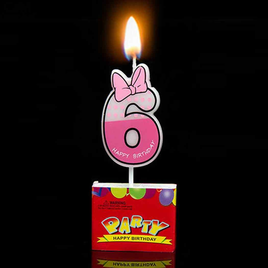 candle Mouse Number Cartoon candles Cake Birthday Decoration  As  Cupcake  9 show 0 the Number  Decoration  wax candles