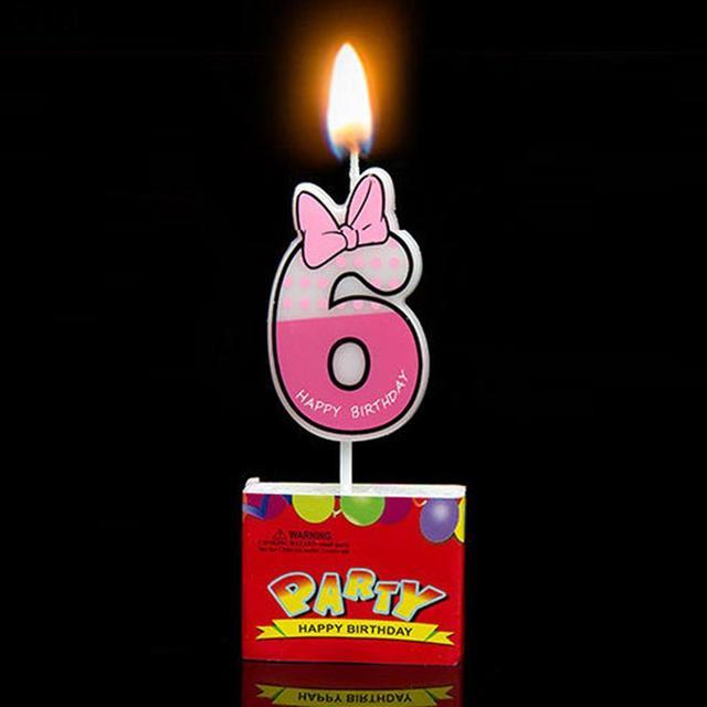 Nến Chuột Số Phim Hoạt Hình nến Bánh Sinh Nhật Trang Trí Như Cupcake 9 hiển thị 0 Số Lượng Trang Trí sáp nến