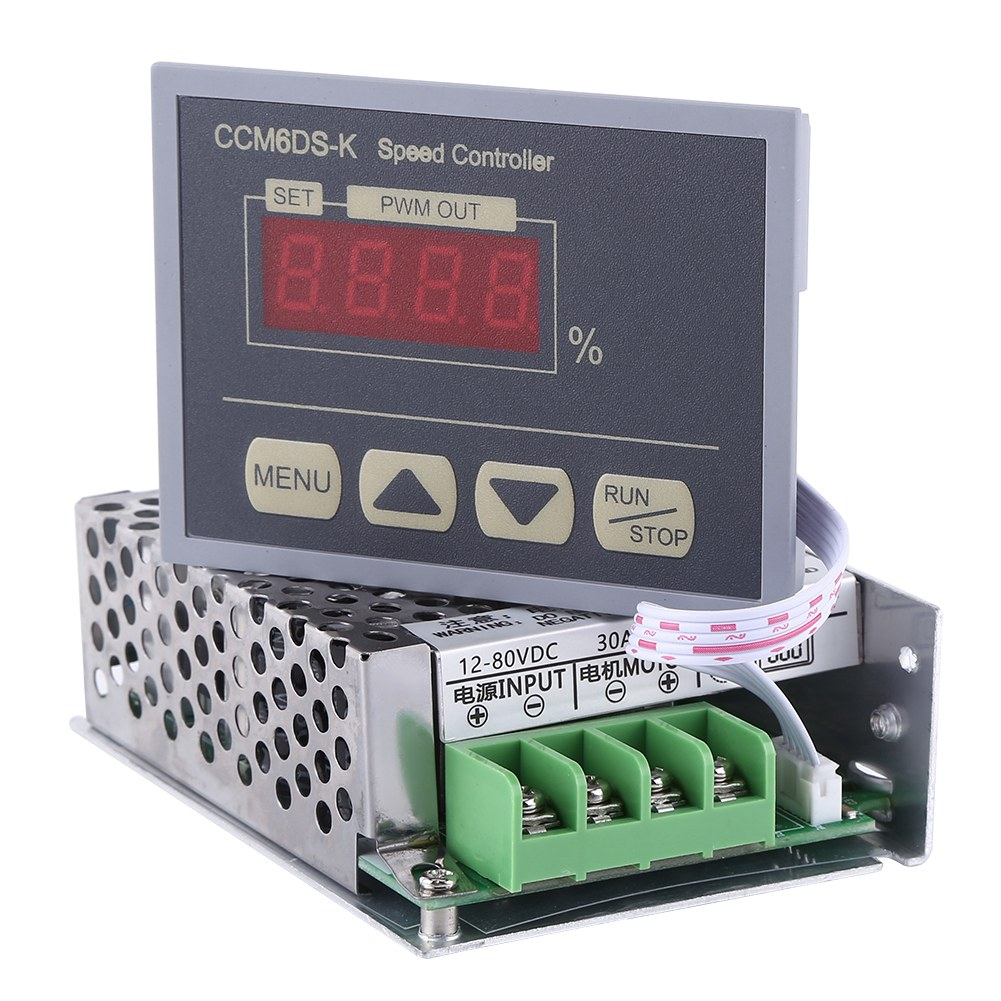 Electrical Equipments & Supplies Devoted Reversible Dc 10-60v Motor Speed Driver Control Governor Soft Start H Bridge Home Improvement