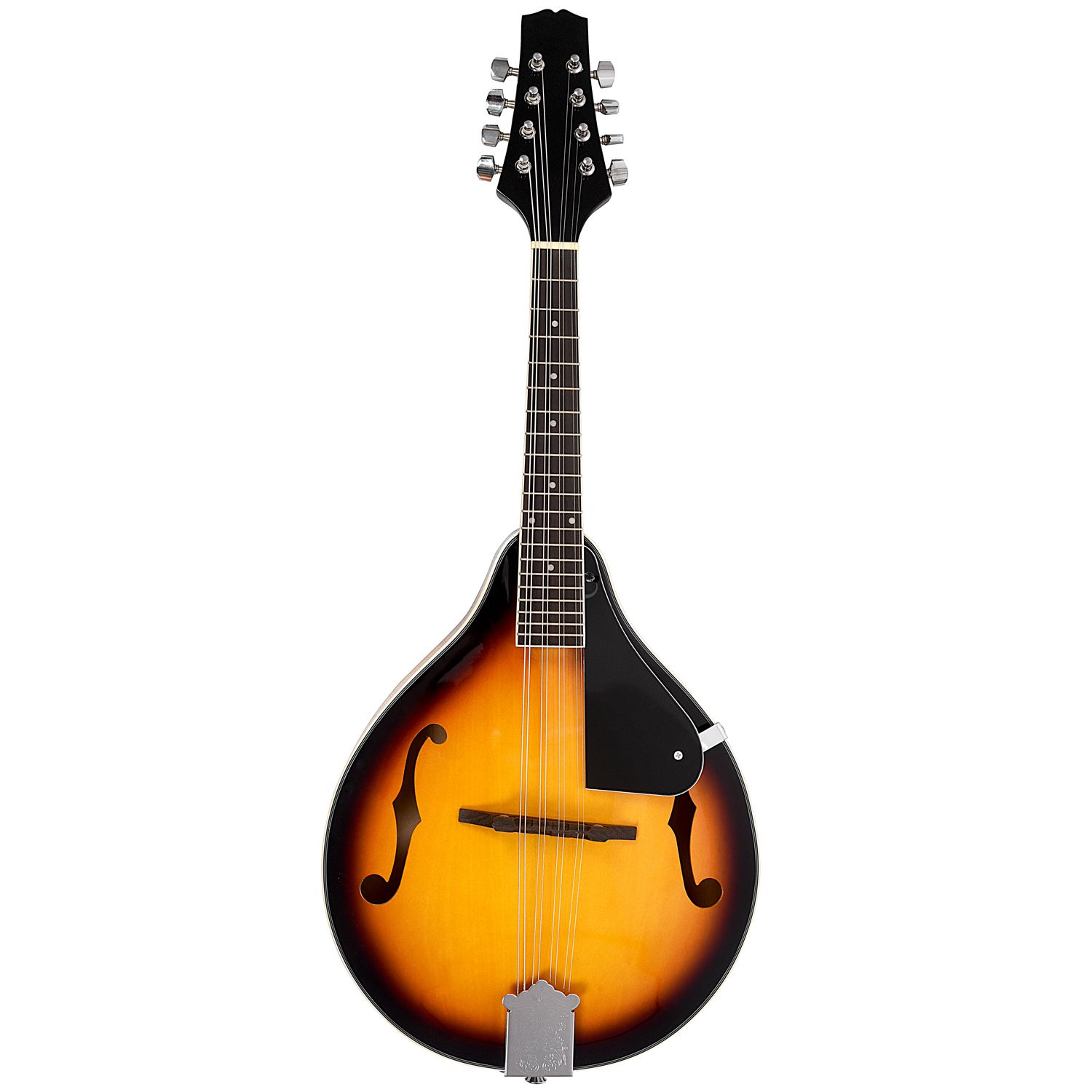 IRIN A-Style Mandolin Sunburst Linden Wood With Wiping Cloth Adjustable String Instrument 8 Strings Guitar For Beginners