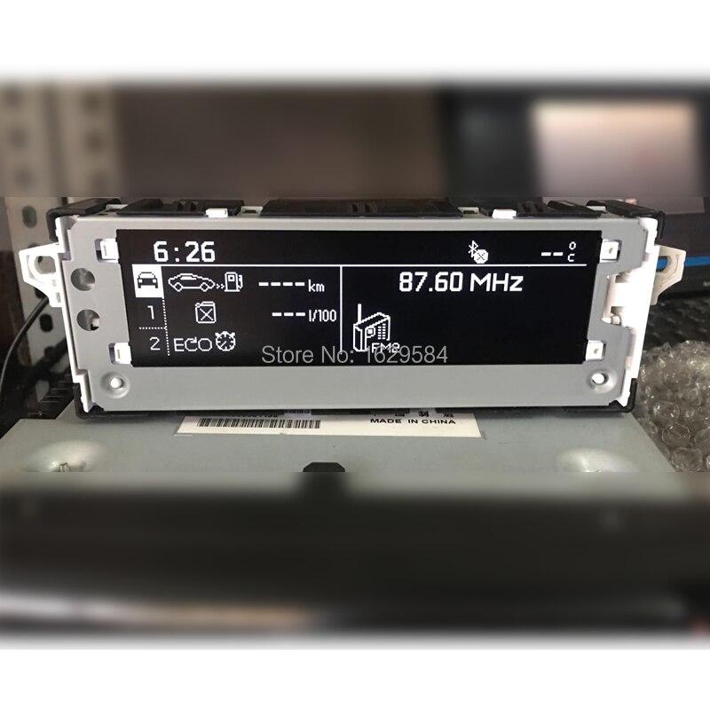 オリジナル (6pin) 白画面モニターサポートディスプレイサポート USB オプションシトロエン c4l のためのプジョー 301 408 508 2008
