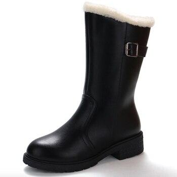 ... Γυναικείες μπότες με γούνινη επένδυση 2018 a2c49499ea0