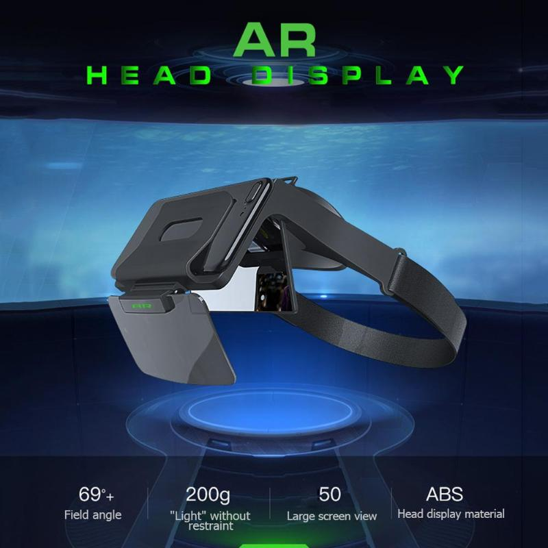 Shinecon AR 01 VR Virtual Reality 3D Glasses Stereo Google Cardboard Portable head mounted cinema glasses 3D Game Glasses