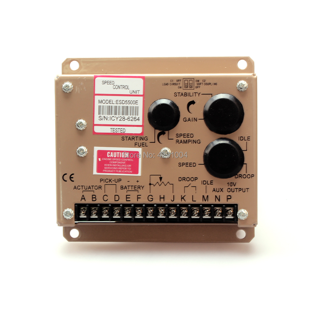 5500E ESD5500 ESD5500E High Quality Diesel Engine Speed Control Unit Governor for Diesel Generator Set
