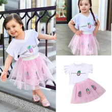 aa96434def Buy pineapple girl top skirt and get free shipping on AliExpress.com