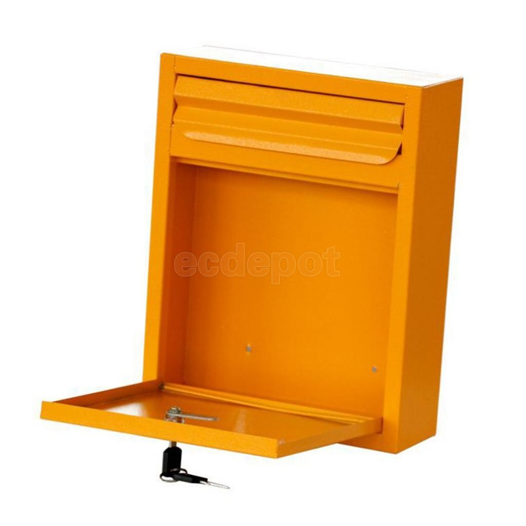 Outdoor Security Locking Mailbox Letterbox Postbox Newspaper Magazines Hatch Case for Rural Safety Mails LockingOutdoor Security Locking Mailbox Letterbox Postbox Newspaper Magazines Hatch Case for Rural Safety Mails Locking