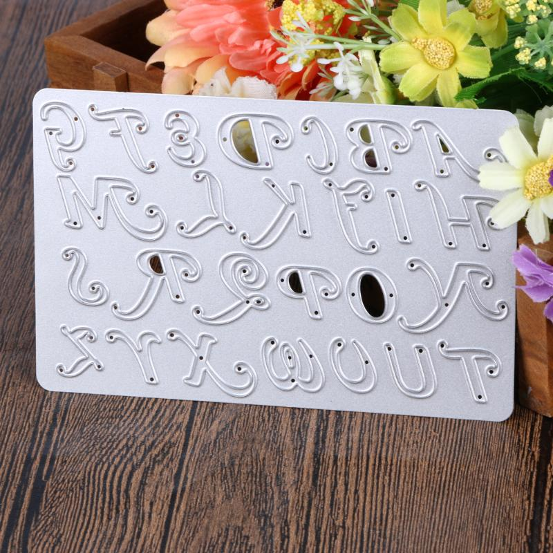 2019 Embossing Paper Cards Die Cut Number Letter Cutting Dies Metal Dies Cutting DIY Scrapbooking Phone Album Decorative hotsell