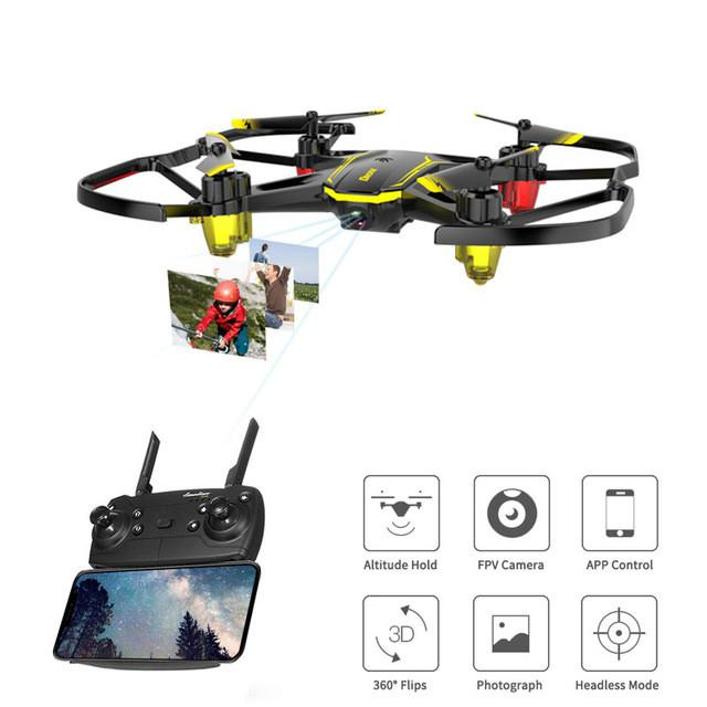 Global Drone GW66 Drones With Camera HD Micro Dron Quadrocopter Altitude Hold RC Helicopter Remote Control Aircraft Mini Drone