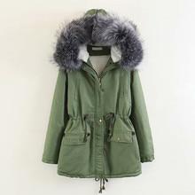 2018 Winter Women Casual Parkas Pockets Thickening Zipper Hooded Coat Drawstring Warm Jackets Outwear Female цены онлайн