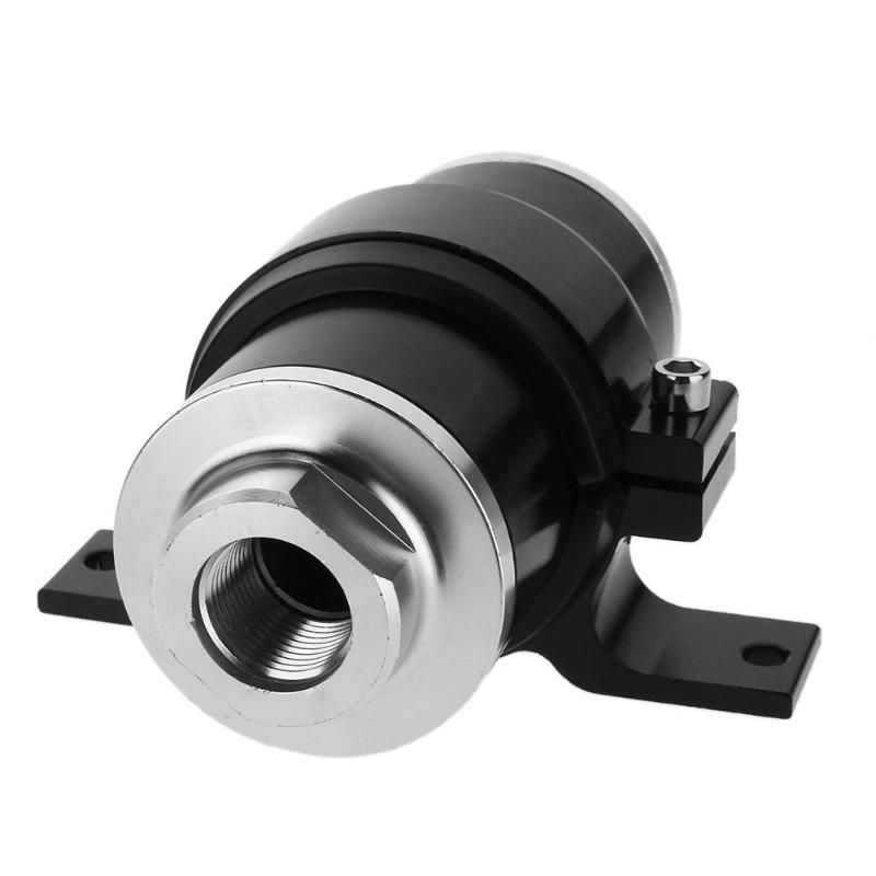 Nettoyant filtre huile essence aluminium universel + support (noir)