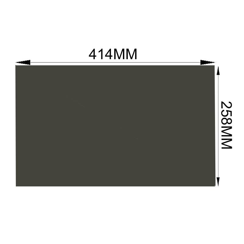 258mm Lcd Monitor Film Polarisierte Blatt Für Samsung 10 Teile/los Großhandel Neue 19 Zoll Breite 16:10 45 Grad 414mm Freies Verschiffen!!