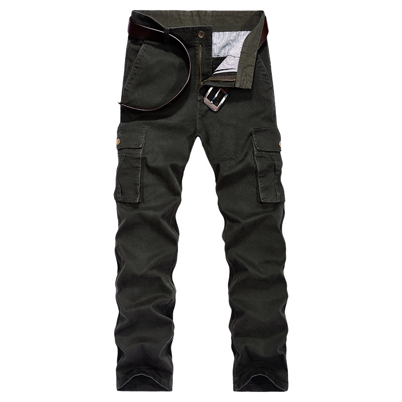 3a46461d5ecad US $32.65 32% OFF|AFS JEEP military cargo pants men pantalon homme high  quality multi pockets cotton trousers men track tactical pants size 42  44-in ...