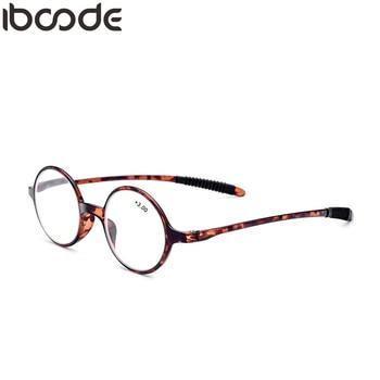 4ac0a86637 Iboode ultraligero TR90 gafas de lectura para hombres mujeres plegable gafas  de presbicia gafas de hombre femenino Unisex claro espejo de lente