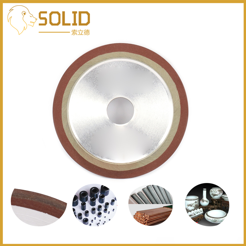 Diamond Grinding Wheel Cutting Disc Resin Bond Grinder For Tungsten Steel Milling Cutter Tool Sharpener 100x8x5x13/16/18/20/25mm