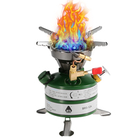 BRS Portable Camping Oil Stove Powerful Gasoline Stove Burner Cooker for Outdoor Camping Hiking Picnic Trekking #