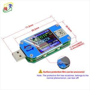 Image 4 - RD UM25 UM25C Cho Ứng Dụng USB 2.0 Loại C LCD Khuếch, Điện Máy Đo Pin Sạc Usb Bút Thử Điện