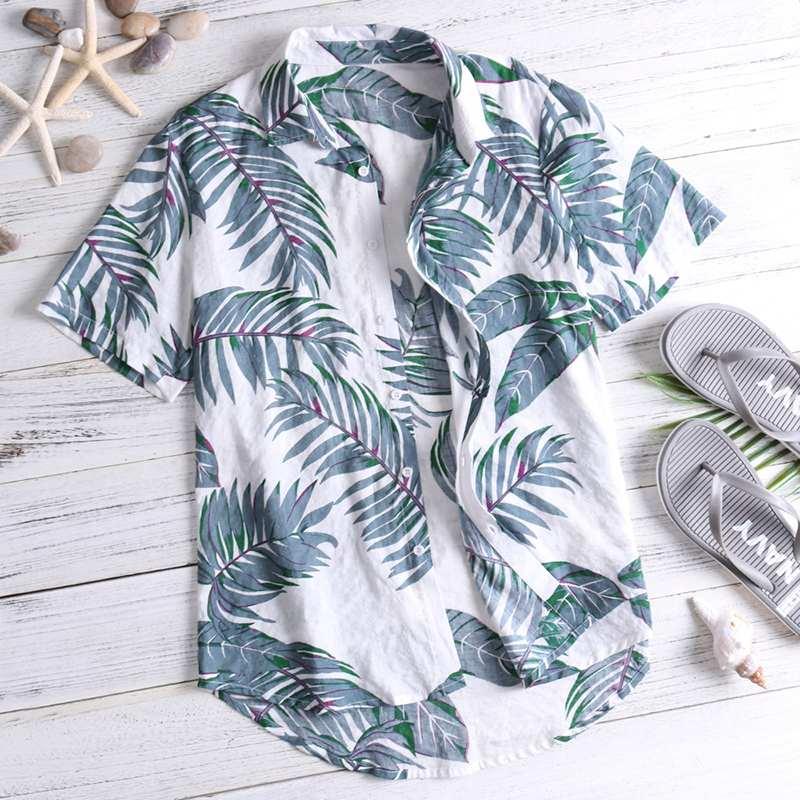 Loose T Shirt,Hawaiian Toucan Bird Fashion Personality Customization