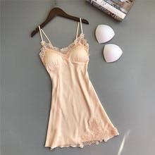 Ночная рубашка из хлопка, ночные рубашки размера плюс, Сексуальная Домашняя одежда, женская одежда для сна с v-образным вырезом, без рукавов, ночная рубашка, женское платье для сна