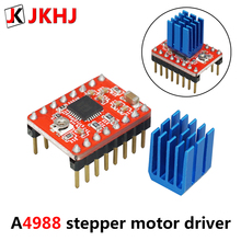 3D Printer Board Parts A4988 Stepper Motor Driver With Heat sink Carrier Reprap RAMPS 1.4 1.5 1.6 MKS GEN V1.4 board StepStick недорго, оригинальная цена
