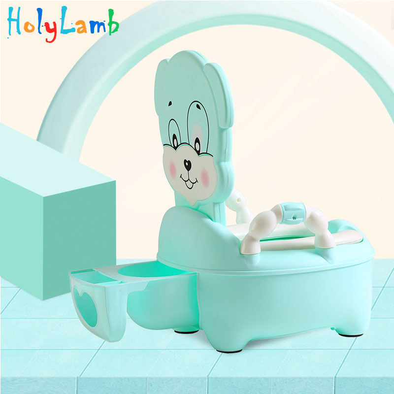 Animal Puppy Baby Potty Toilet Bowl Training Toilet Seat Children's Pot Kids Bedpan Portable Urinal On The Toilet For Babies