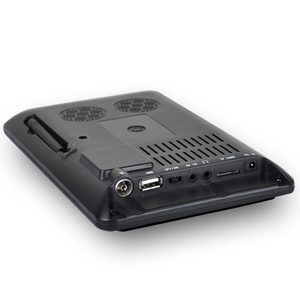 Image 5 - Taşınabilir 9 inç 16:9 1080P TFT Led HD PVR DVBT2 DVBT ISDB dijital Analog TV desteği USB TF kart okuyucu