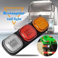 24V 87 LED Tail Light Truck Trailer Rear Indicator Lamp Stop Reverse Light Shock proof and waterproof High brightness Car Light