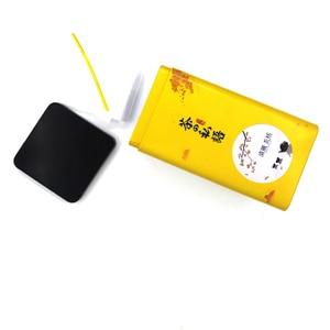 Image 4 - 新嘉李包装金属ボックスカスタムエンボス加工錫平方ボックスウェディングクリア日本スタイル茶装飾ボックス卸売
