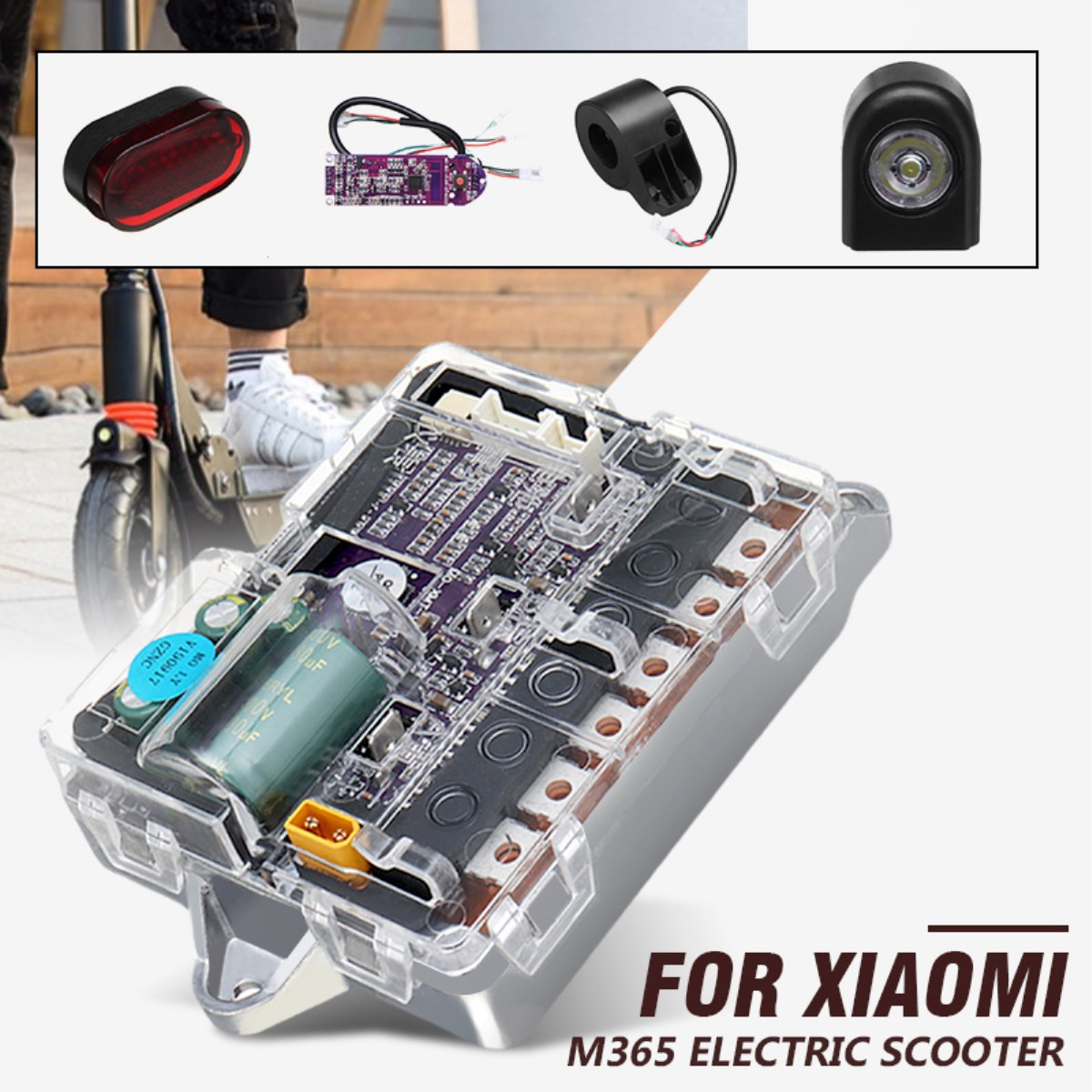 Electric Skateboard Skate Scooter For XIAOMI m365 Motherboard Skate board Motor Controller Main Board ESC Substitute KitElectric Skateboard Skate Scooter For XIAOMI m365 Motherboard Skate board Motor Controller Main Board ESC Substitute Kit