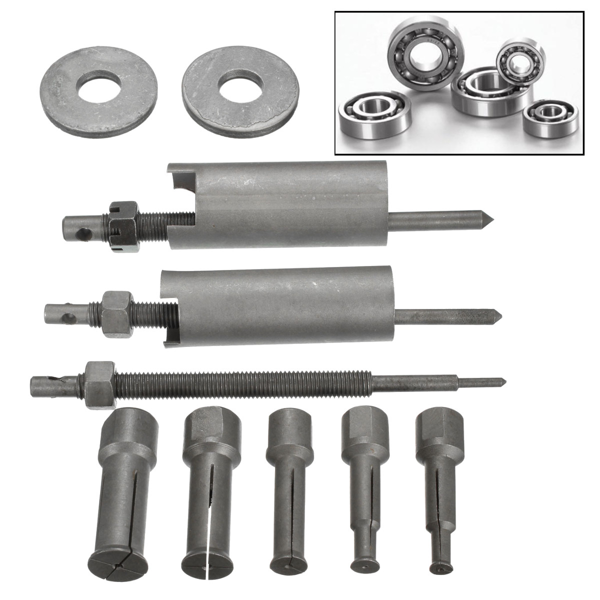1 Set 9mm-23mm Diameter Inner Bearing Puller Tool Remover Kit For Auto Motorcycle Repair Tool
