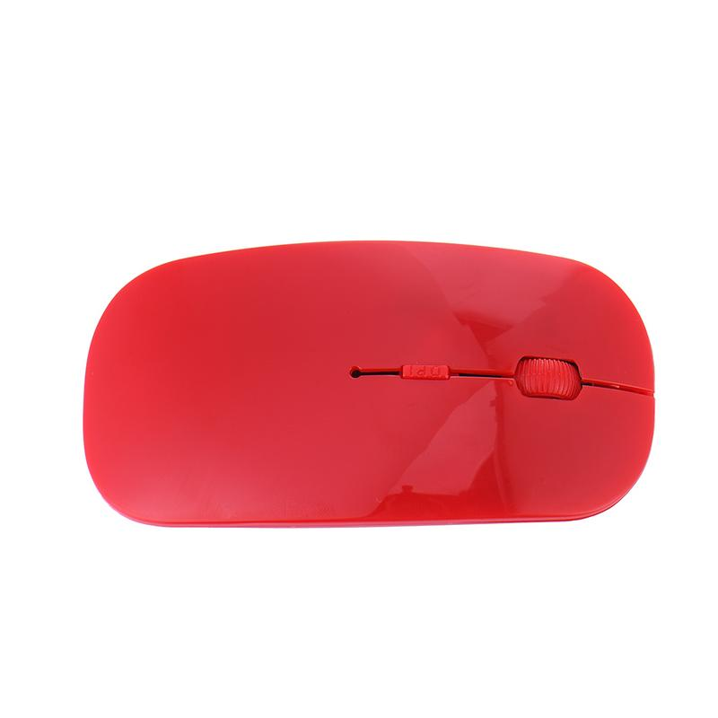 Color : Pink XIAMEND 2.4G Ultra-Thin Mute Wireless Computer Mouse for Laptop PC Computer