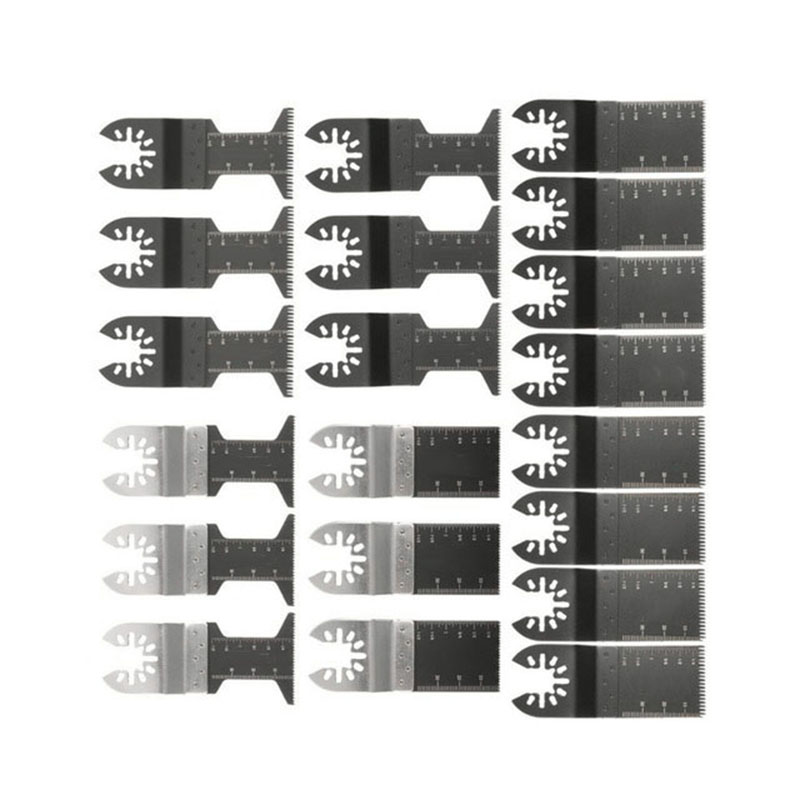 20 Pcs/Set Bi-metal Multitool Oscillating Tool Accessories For Wood Cutting Multi Circular Saw Blades Tool Wood Cuttings20 Pcs/Set Bi-metal Multitool Oscillating Tool Accessories For Wood Cutting Multi Circular Saw Blades Tool Wood Cuttings