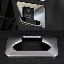 Автомобильный Стайлинг хромированный электронный Кнопка Ручного Тормоза декоративный кожух ABS Стикеры подходит для Volvo XC60 V60 S60 S60L S80 S80L