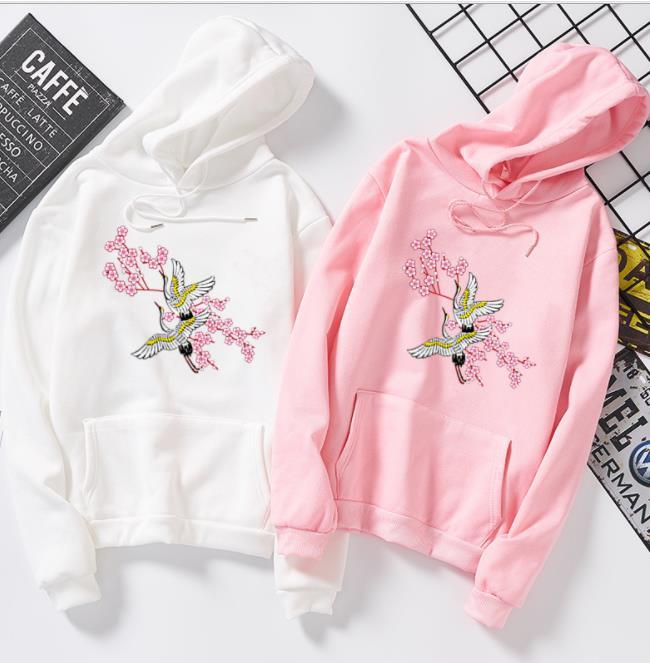 E Versione Pullover Per Delle Gru Gli Uomini Donne Cappuccio Coreana Le Di Con 2018 Top Fashion Allentato gwdZAZq