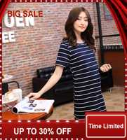 new spring and summer of pregnant women dress maternity wear breast-feeding vogue out nursing T-shirt cotton dress