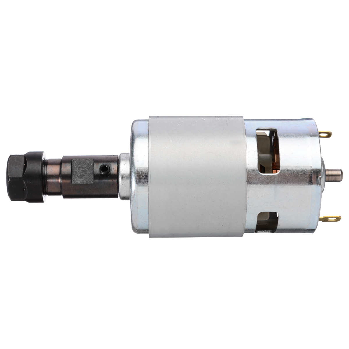 New Spindle 775 DC Motor 12-36V with ER11 Replacement Part High Quality For CNC Router Machine Router MachineNew Spindle 775 DC Motor 12-36V with ER11 Replacement Part High Quality For CNC Router Machine Router Machine