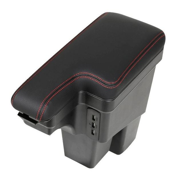 Automobiles Arm Rest Car-styling Car Mouldings Accessory Styling protector Modification Armrest Box 14 15 16 17 18 FOR Honda Fit