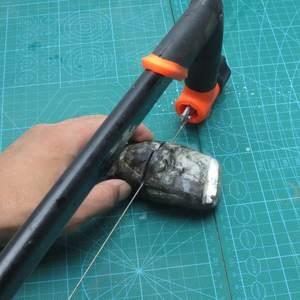 Image 5 - 10m Length DIY Coping Cutting Saw Blades 0.35mm Diamond Cutting Wire Metal Wire Diamond Emery Jade Metal Stone Glass