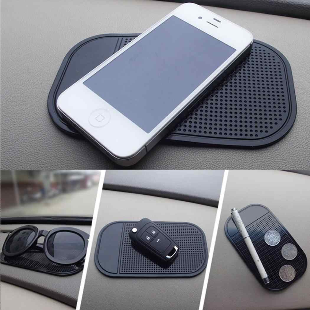 Car Dashboard Anti Slip Mat Pad Solid GPS Cell Phone Holder Anti Any Level of Skid Sticky Random Mats