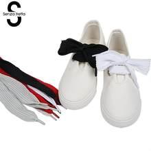 Senza Fretta Larga Commerci All'ingrosso di Grasso a Livello Lacci delle scarpe Lacci Shoestrings Lacci delle scarpe Lacci Delle Scarpe Bowtie Designer 60*3 cm LDD0201