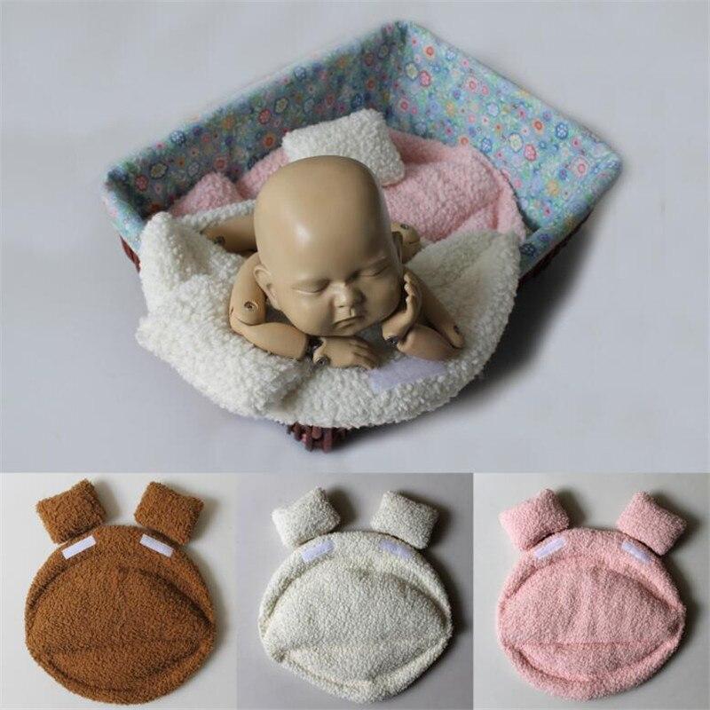 Newborn Photography Props Accessories Newborn Photoshoot Blanket Bucket Basket Stuffer Filler Baby Posing Cusion Baby Photo Prop