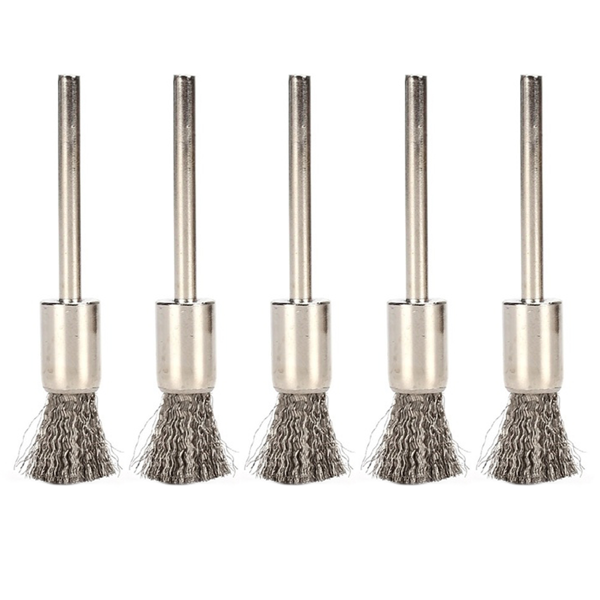 5pcs Cleaning Brush Atomizer Tanks Heating Wire Vape Accessories Coil Cleaner Steel Brush E-Cig DIY Tools For RDA RBA Rebuilda